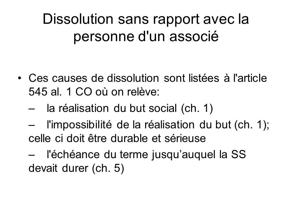 Cas 7.2 Question 1 Notion de Groupe selon lart.663 e al.