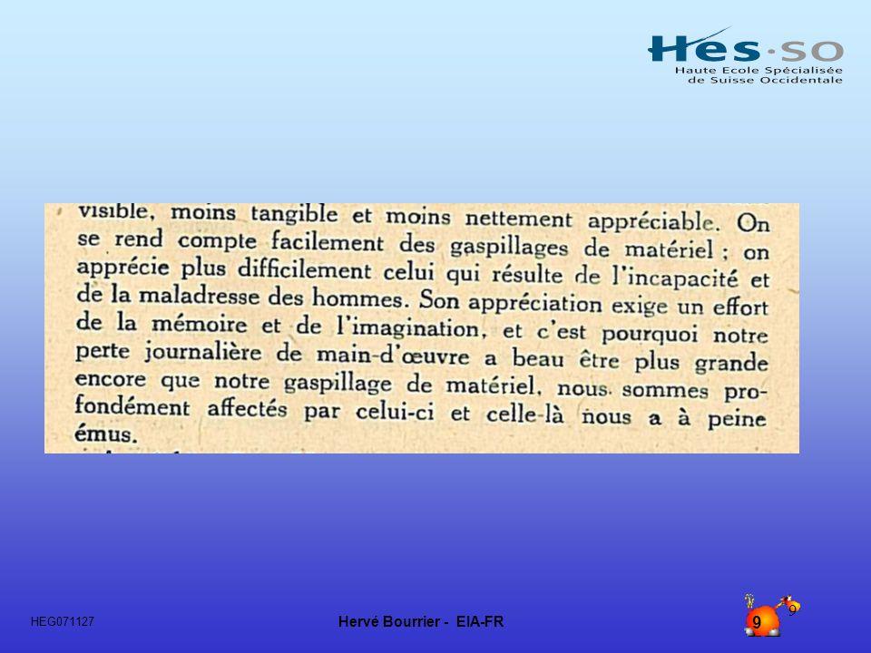 Hervé Bourrier - EIA-FR 10 HEG071127 10