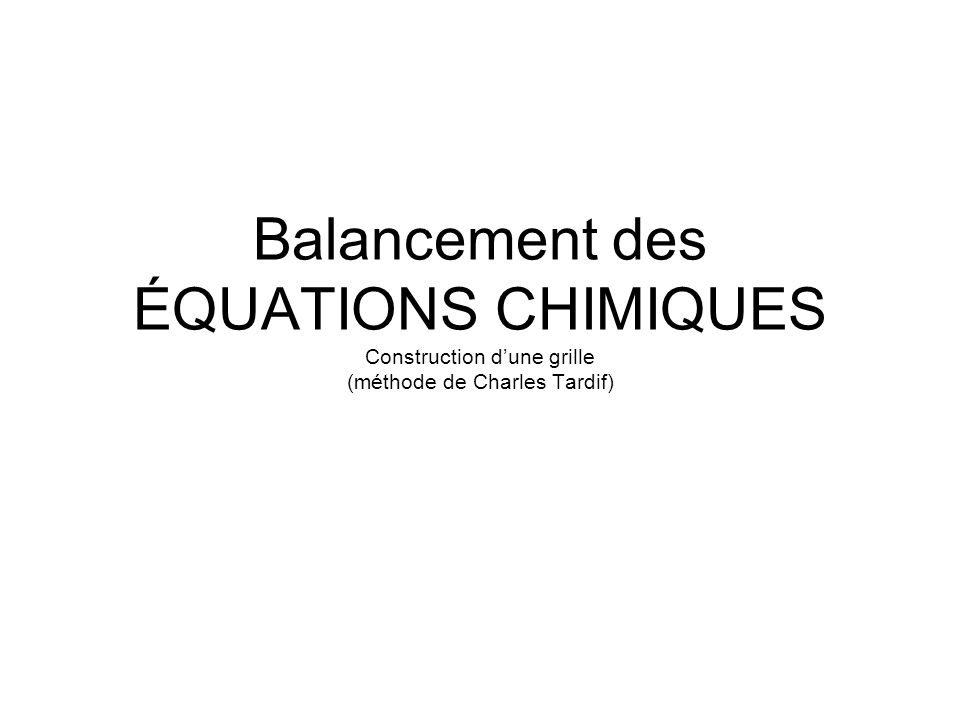 Balancer la réaction suivante: Mg(OH) 2 + H 3 PO 4 Mg 3 (PO 4 ) 2 + H 2 O 1.