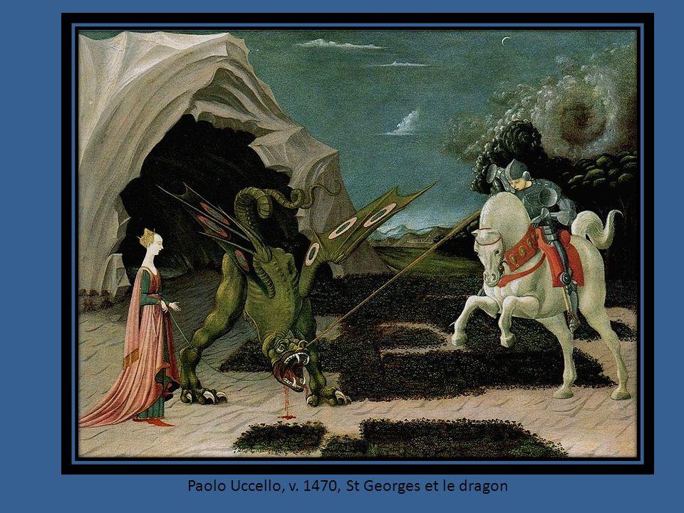 Paolo Uccello, v. 1470, St Georges et le dragon