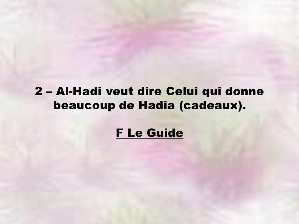 F Le Guide