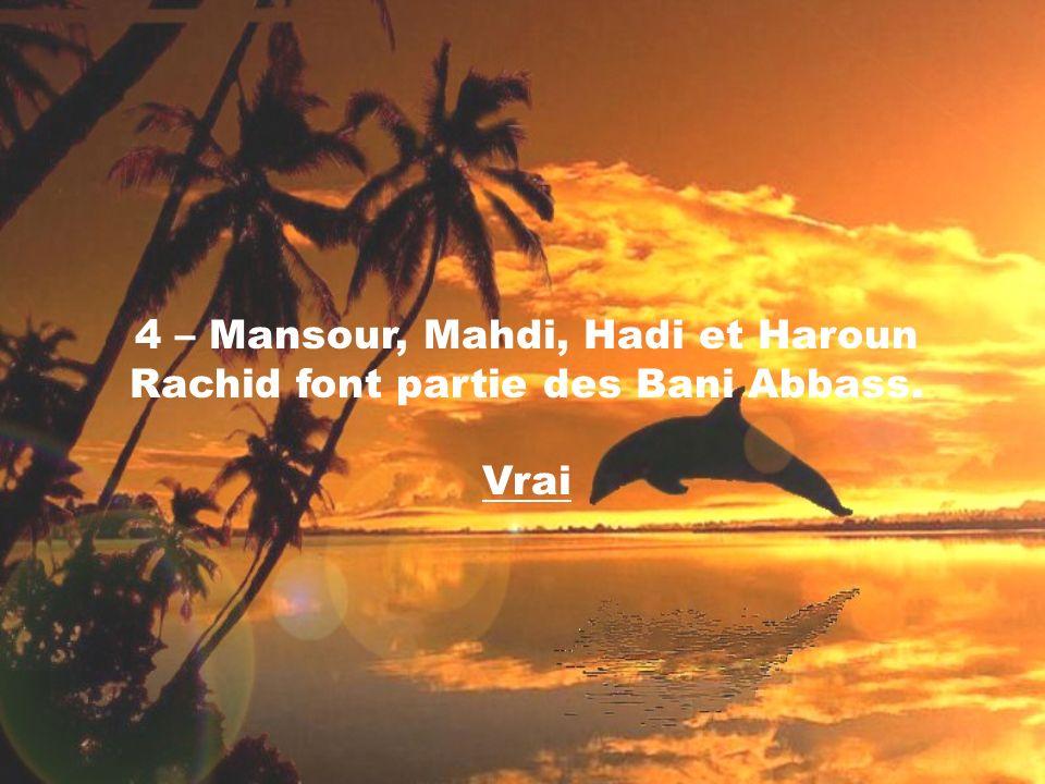 15 – La mère dImam Ali Ar-Riza A.S. sappelle Oummoul Banine Najma.