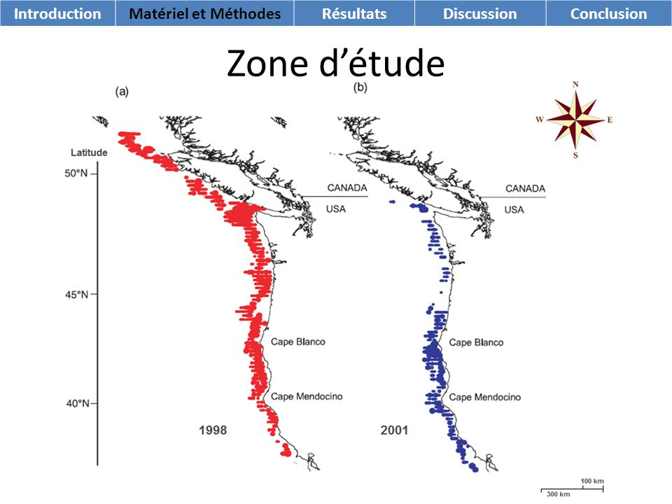 Zone détude IntroductionMatériel et MéthodesRésultatsDiscussionConclusion