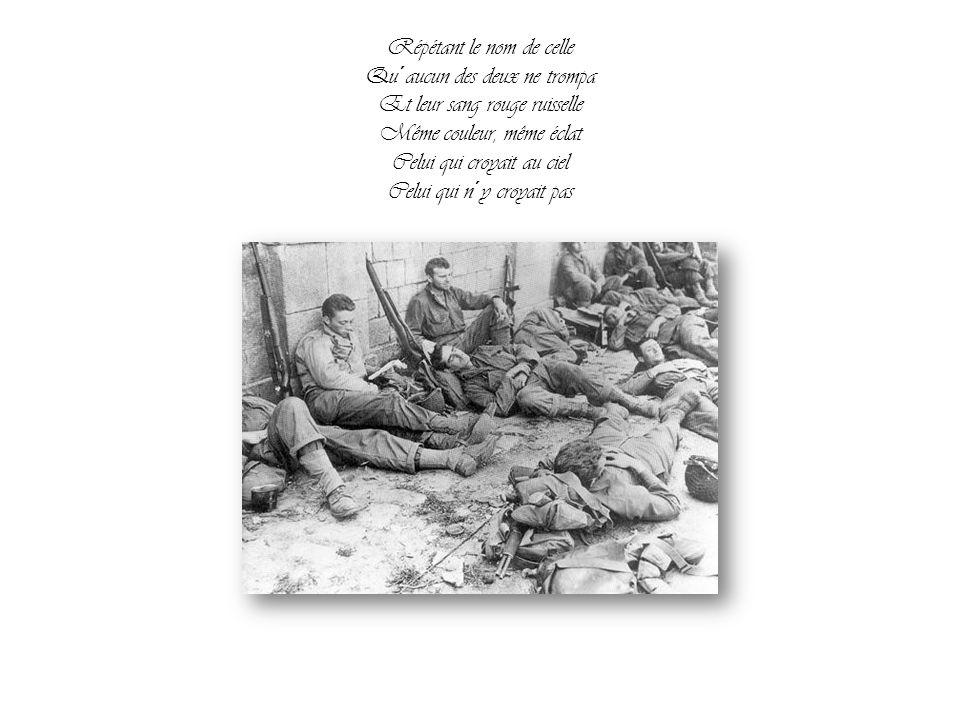 Un rebelle est un rebelle Deux sanglots font un seul glas Et quand vient l´aube cruelle Passent de vie à trépas Celui qui croyait au ciel Celui qui n´