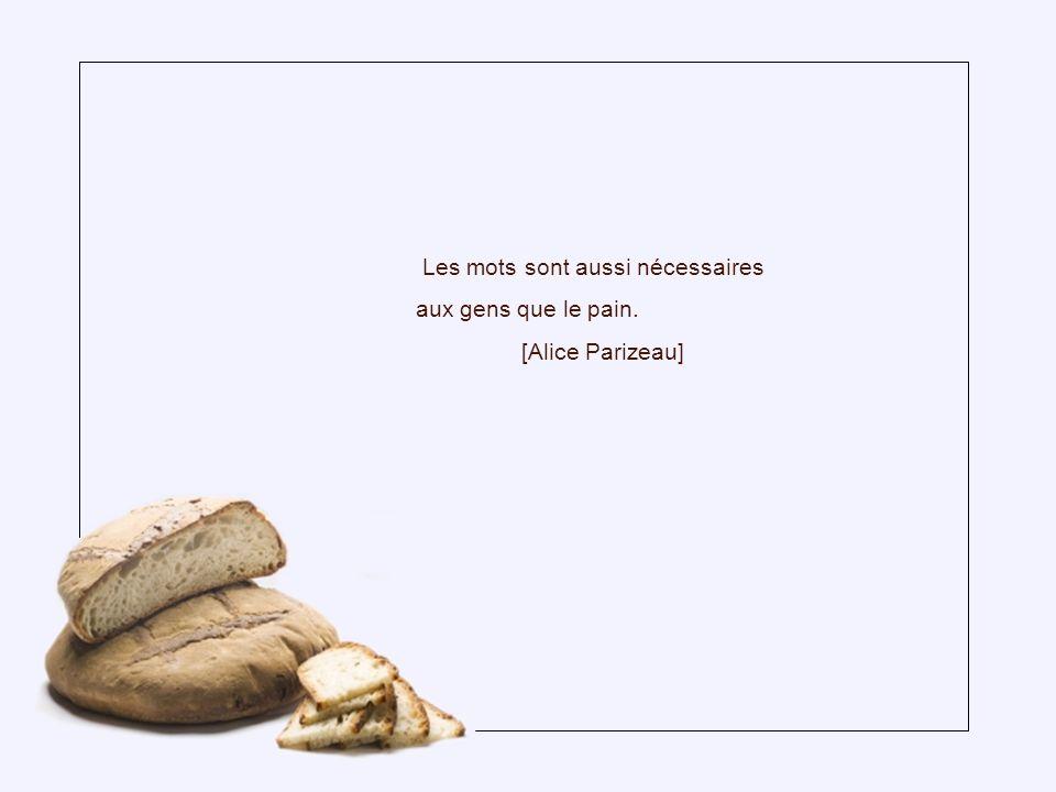 Ce n est pas une miette de pain, c est la moisson du monde entier qu il faut à la race humaine, sans exploiteur et sans exploité.