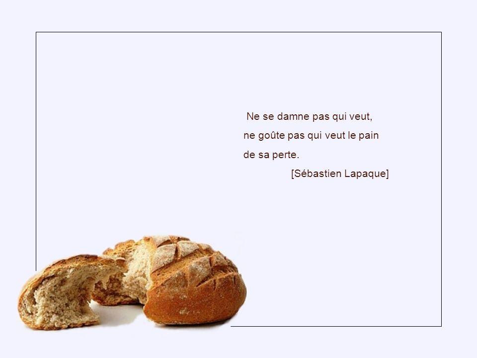 Les mots sont aussi nécessaires aux gens que le pain. [Alice Parizeau]
