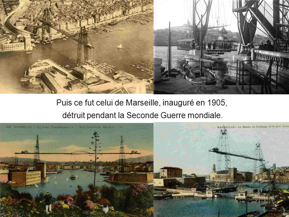 Puis ce fut celui de Marseille, inauguré en 1905, détruit pendant la Seconde Guerre mondiale.