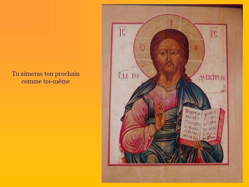 Et JESUS parla… Il disait …