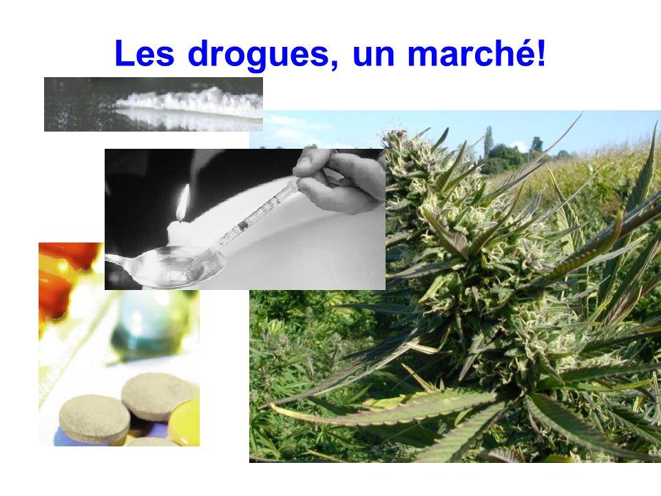 Les drogues, un marché!