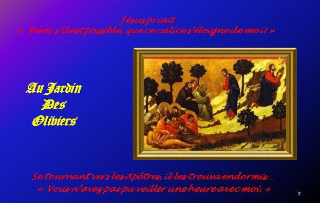 La Passion de Jésus Selon Duccio di Buoninsegnia Peintre de Sienne.
