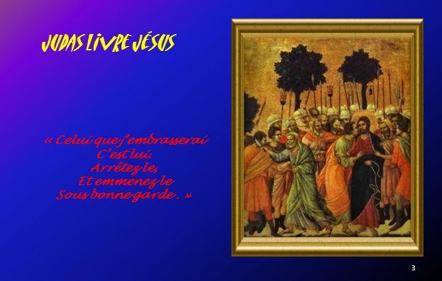Au Jardin Des Oliviers Se tournant vers les Apôtres, il les trouva endormis… « Vous navez pas pu veiller une heure avec moi.