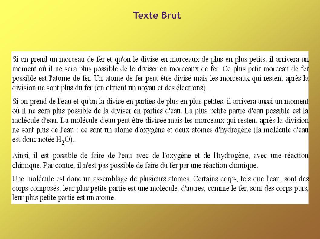 Texte Brut