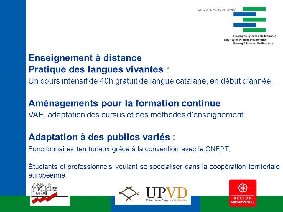 Enseignement à distance Pratique des langues vivantes : Un cours intensif de 40h gratuit de langue catalane, en début dannée.
