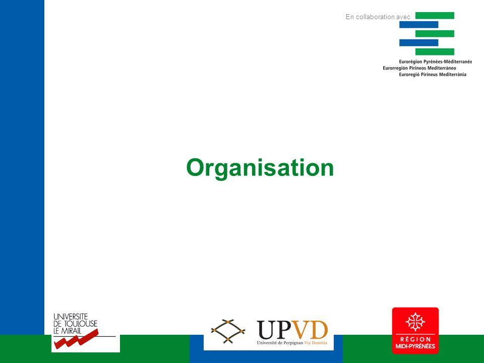 Organisation En collaboration avec