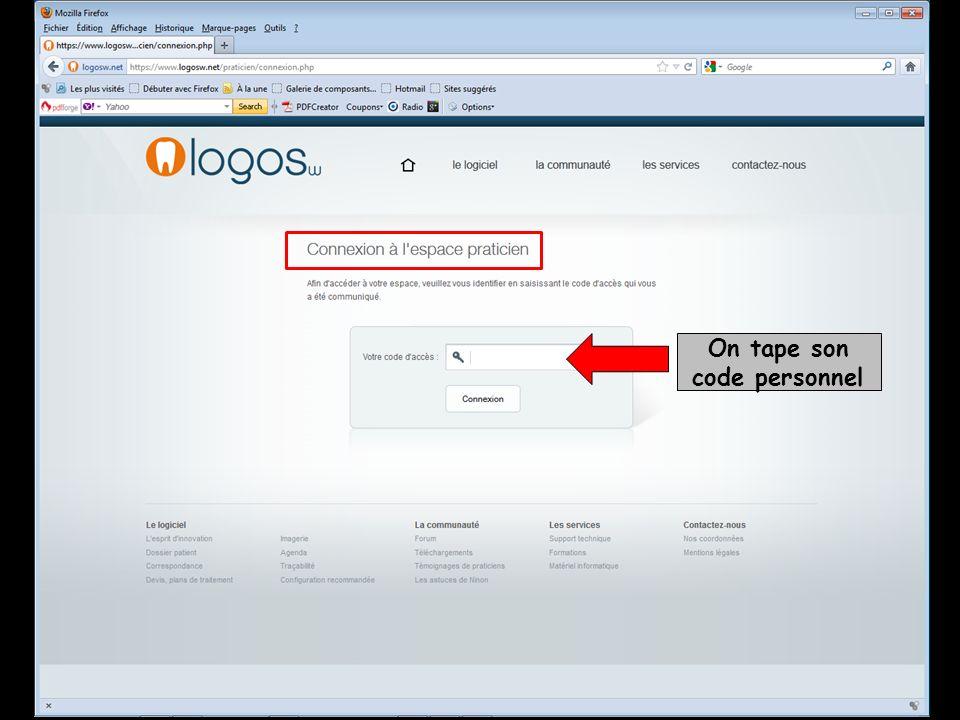 Envoi de SMS directement à partir de LOGOS_w À partir du dossier patient Envoi dun SMS À partir de lagenda