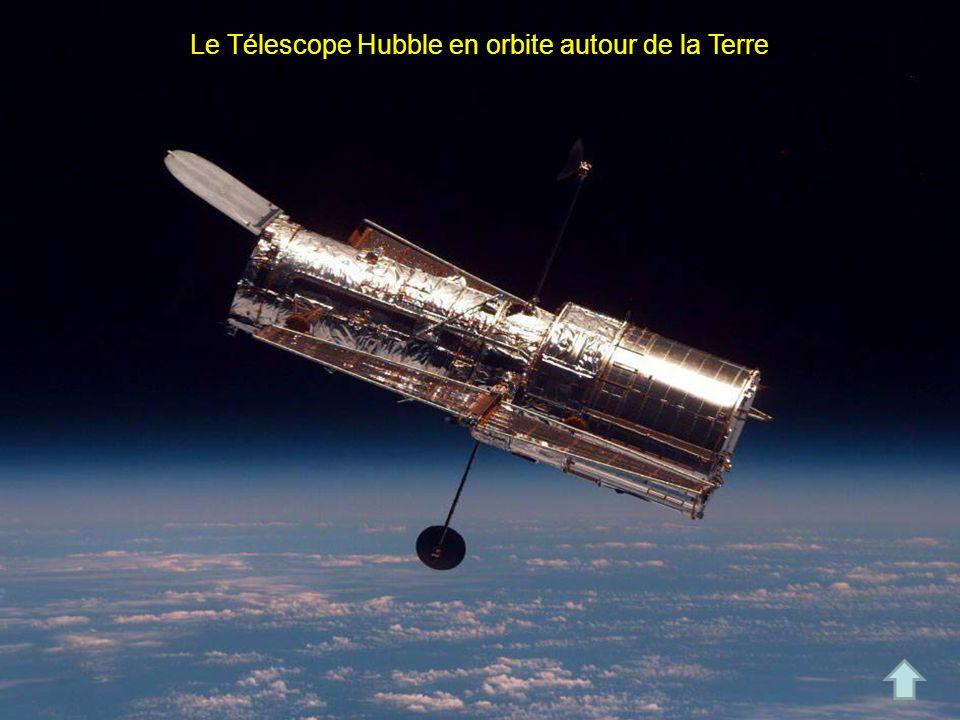 Le Télescope Hubble en orbite autour de la Terre