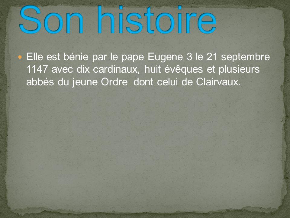 -D-Début de sa construction 1130 la fin en 1147 -E-Elle est située sur la Côte-d Or -S-Sa ville Marmagne -S-Son culte catholique romain -C-Construit par Bernard de Clairvaux