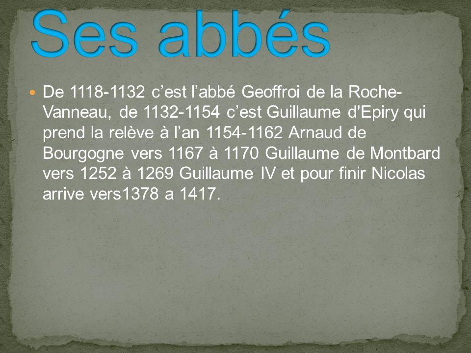Elle est bénie par le pape Eugene 3 le 21 septembre 1147 avec dix cardinaux, huit évêques et plusieurs abbés du jeune Ordre dont celui de Clairvaux.