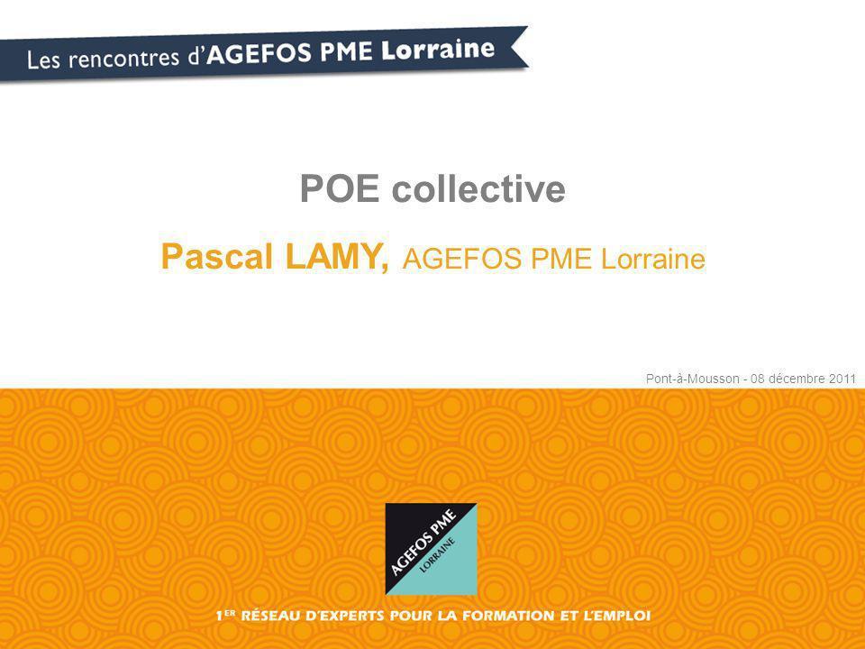 POE collective Pascal LAMY, AGEFOS PME Lorraine Pont-à-Mousson - 08 décembre 2011