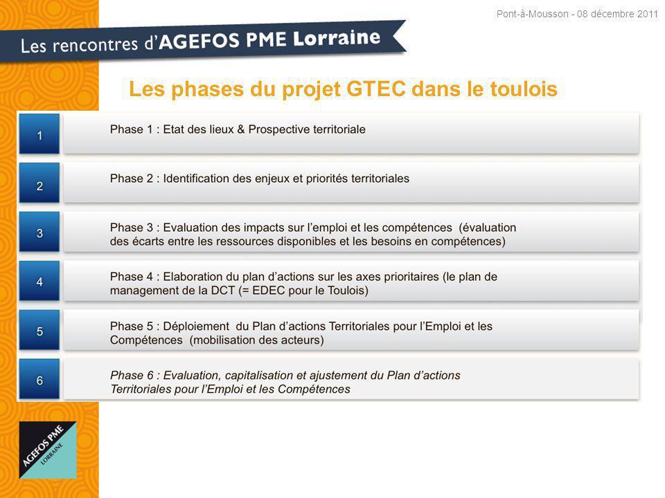 Les phases du projet GTEC dans le toulois Pont-à-Mousson - 08 décembre 2011