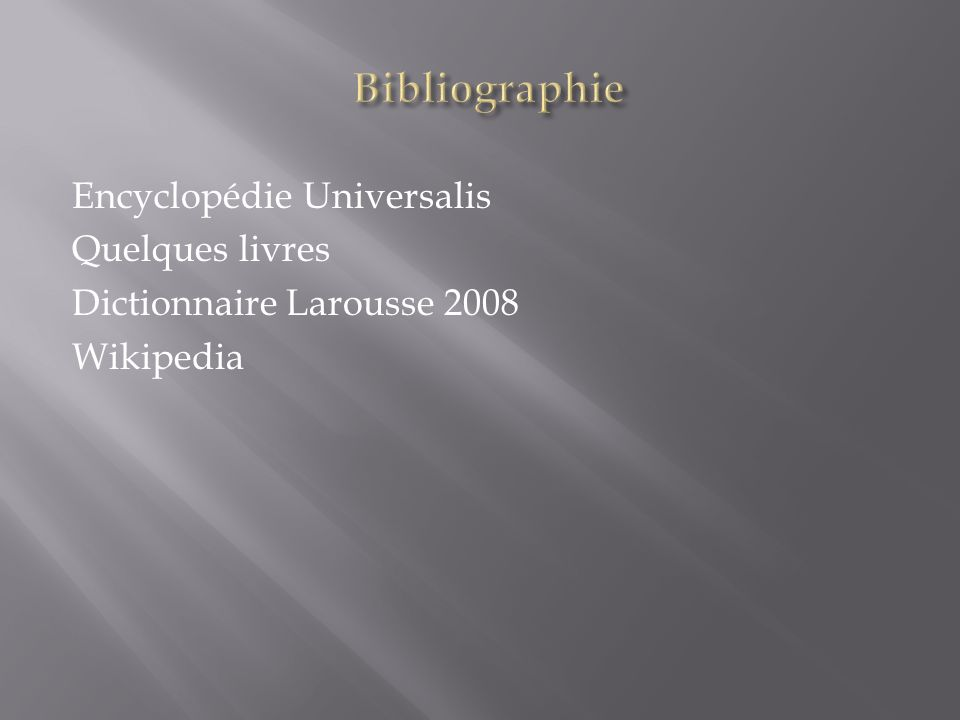 Encyclopédie Universalis Quelques livres Dictionnaire Larousse 2008 Wikipedia