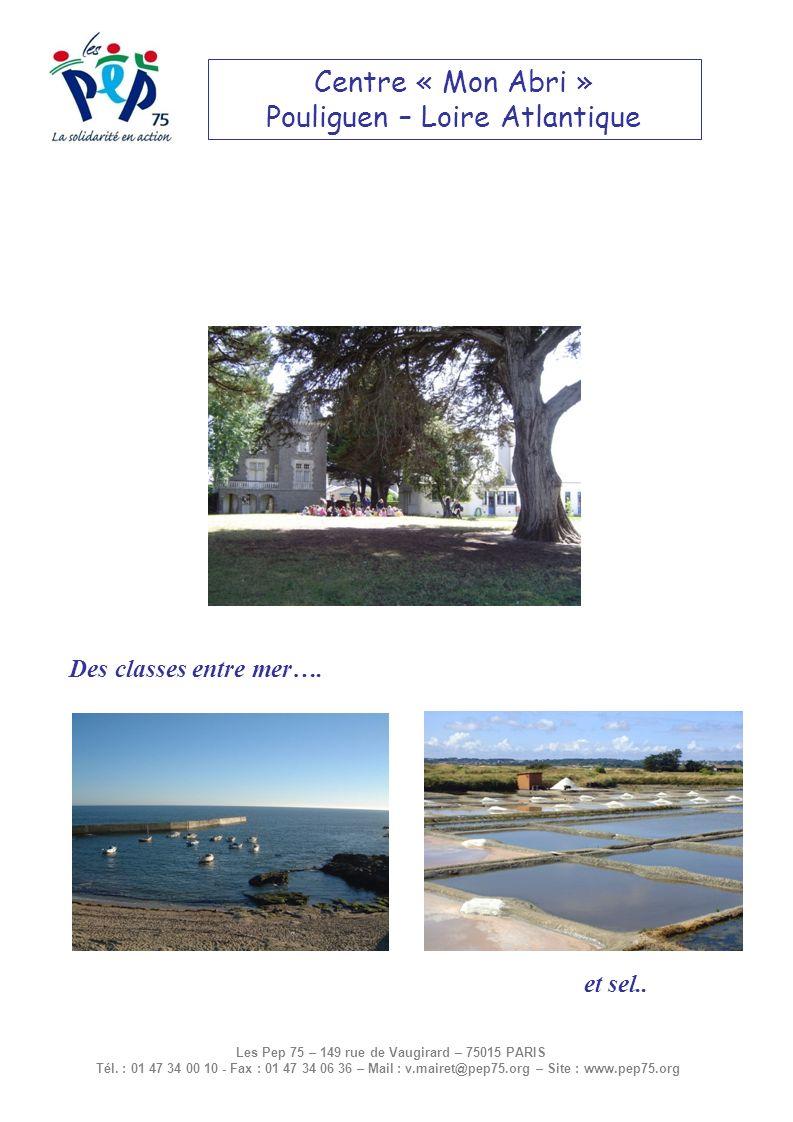 Situation Géographique Le Pouliguen est un village de bord de mer, situé entre La Baule et le Croisic, sur la presquîle de Guérande.