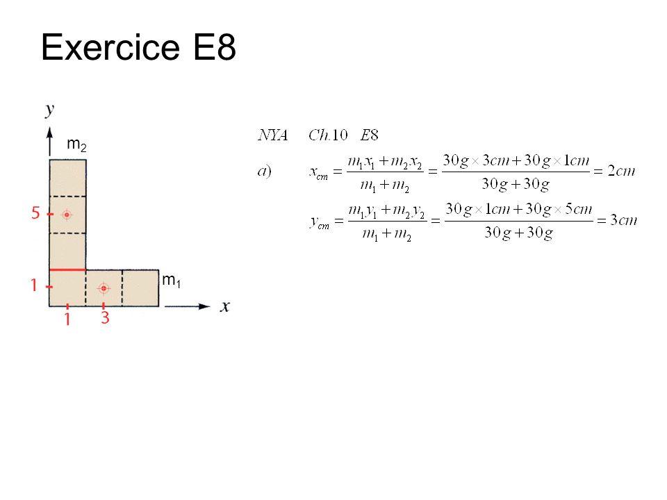 Exercice E8 m1m1 m2m2