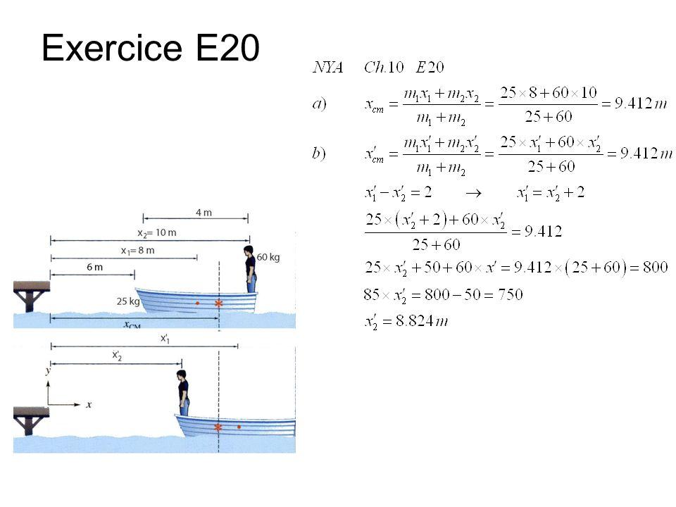 Exercice E20