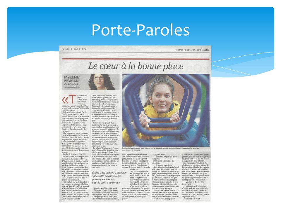 Porte-Paroles
