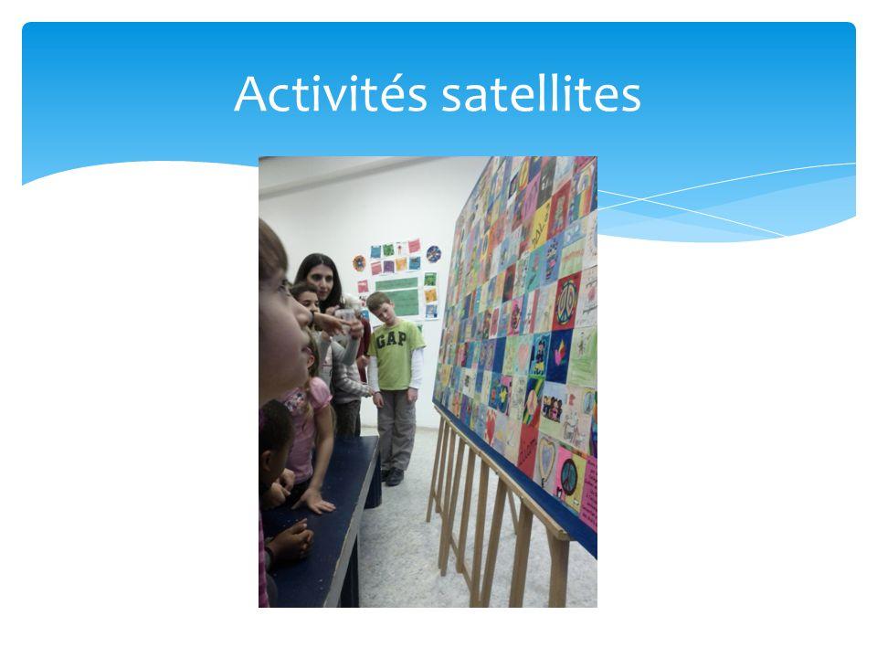 Activités satellites