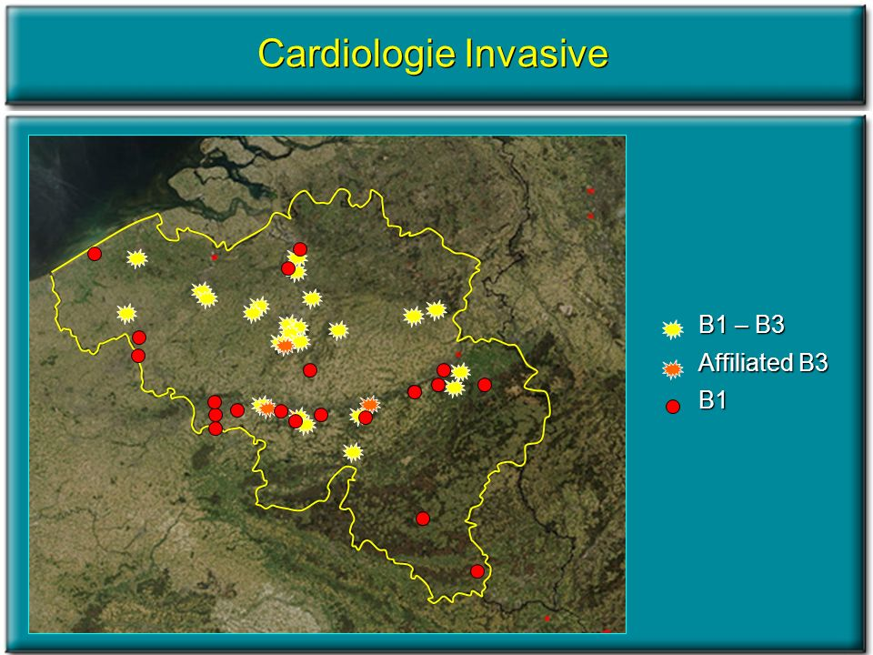B1 – B3 Affiliated B3 B1 Cardiologie Invasive