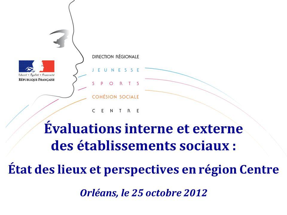 2 Sommaire Évaluations interne et externe des établissements sociaux 1.