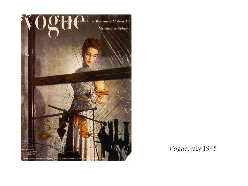 Vogue, july 1945