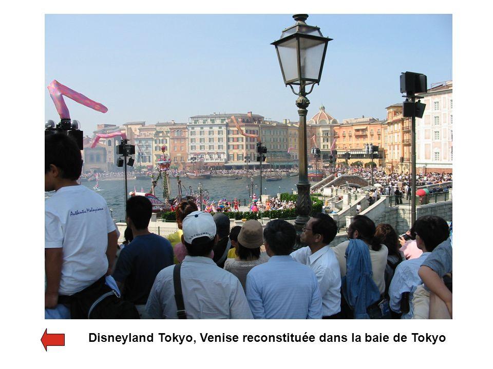 Disneyland Tokyo, Venise reconstituée dans la baie de Tokyo
