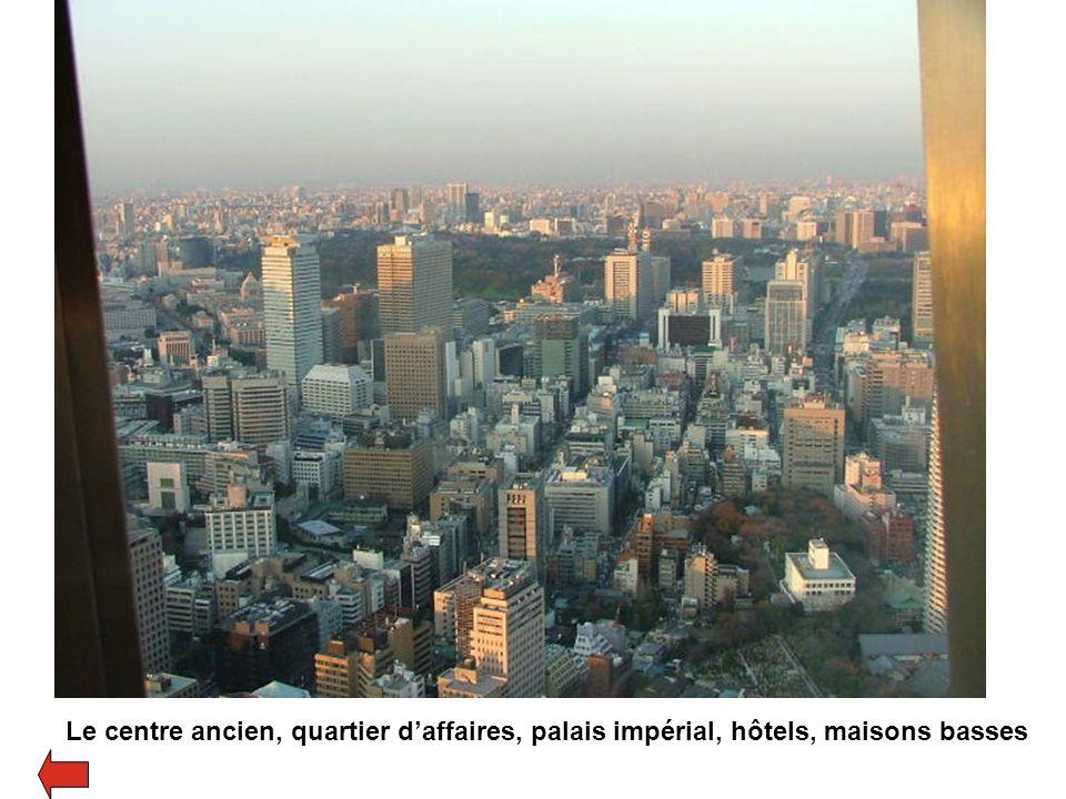 Shibuya, un sous-centre, services et commerces autour dune gare