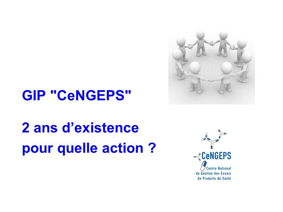 2 ans dexistence pour quelle action GIP CeNGEPS