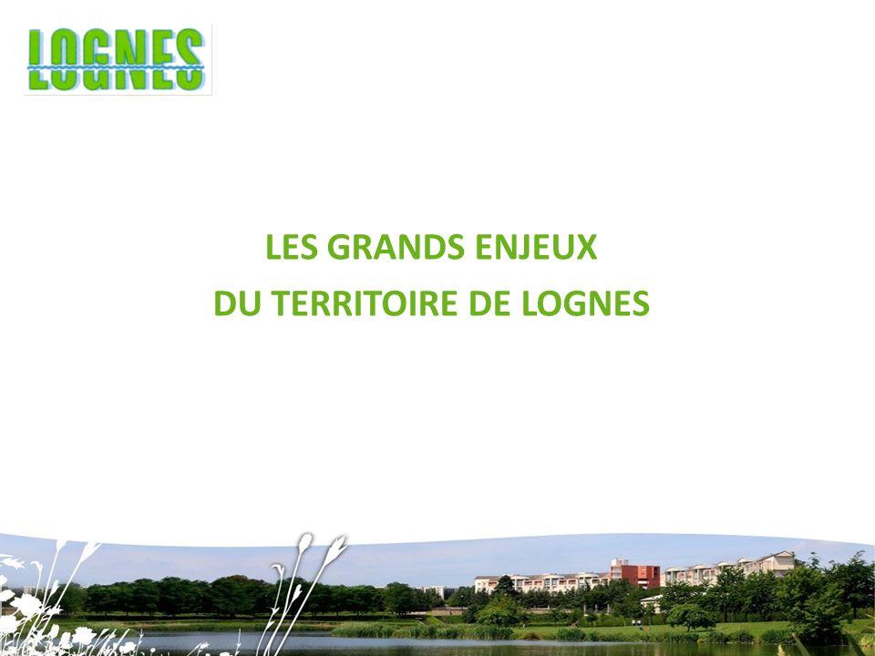 LES GRANDS ENJEUX DU TERRITOIRE DE LOGNES