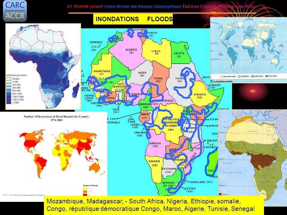 AIT BRAHIM Lahsen / Centre Africain des Risques Catastrophiques / African Centre for Catastrophe Risks Mozambique, Madagascar, - South Africa, Nigeria