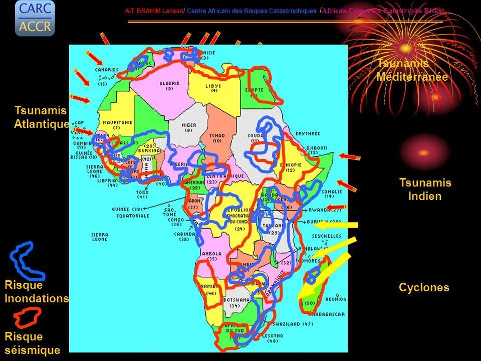 AIT BRAHIM Lahsen / Centre Africain des Risques Catastrophiques / African Centre for Catastrophe Risks Tsunamis Atlantique Risque Inondations Risque s
