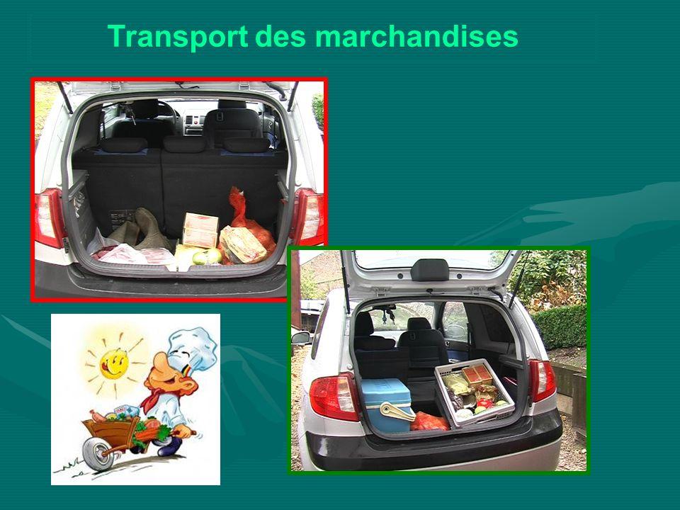 Transport des marchandises