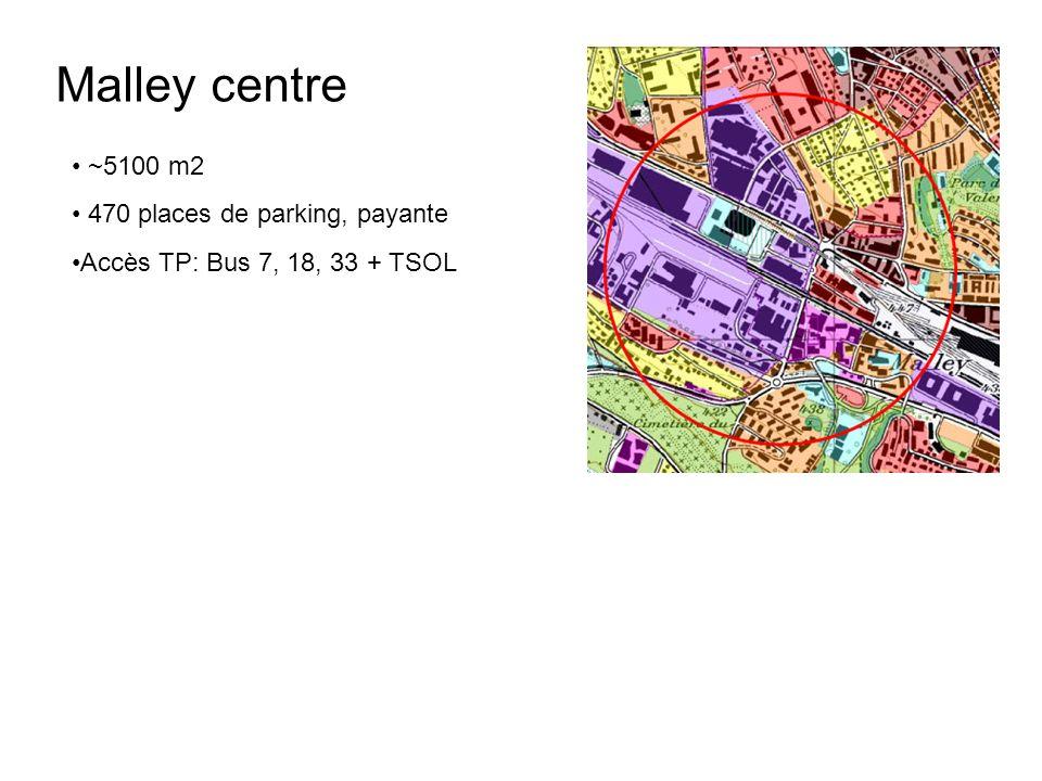 MM Bussigny ~2900 m2 Accès TP: Gare régionale,