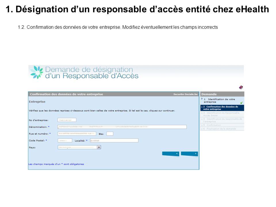 3.Désignation des personnes chargées denregistrer TDI 3.2.