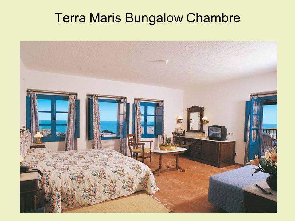 Terra Maris Bungalow Chambre