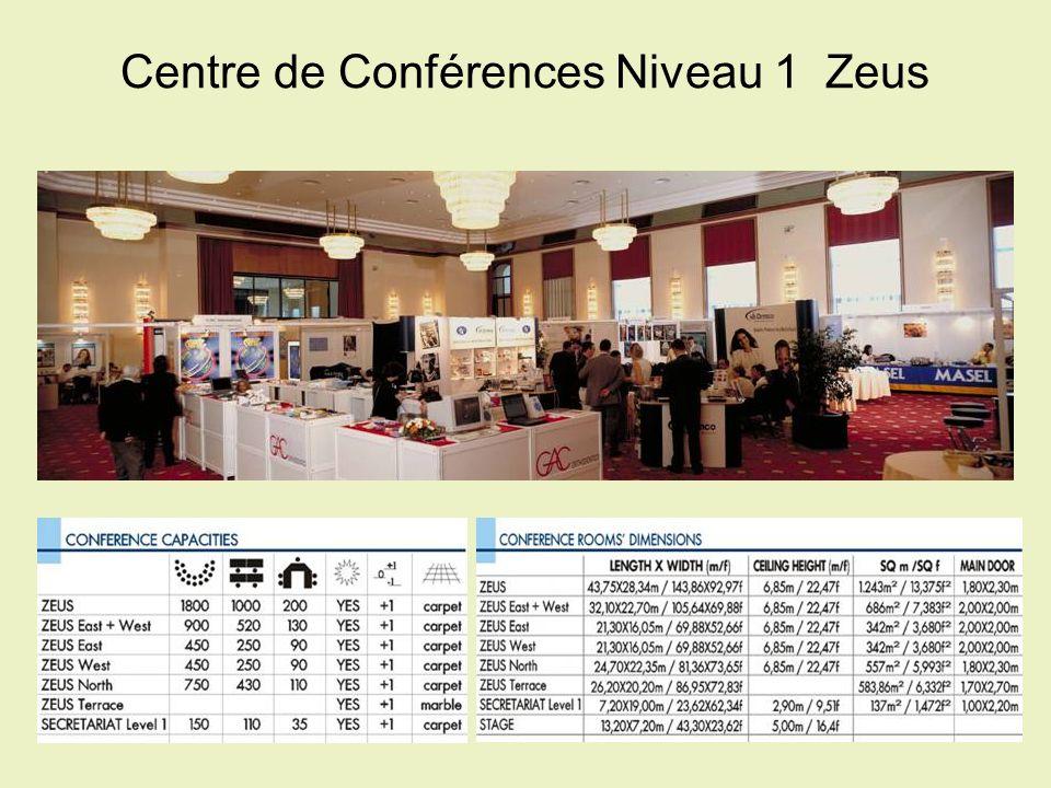 Centre de Conférences Niveau 1  Zeus