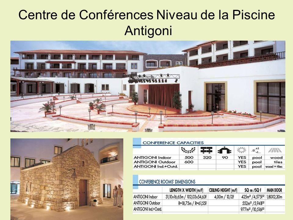Centre de Conférences Niveau de la Piscine  Antigoni