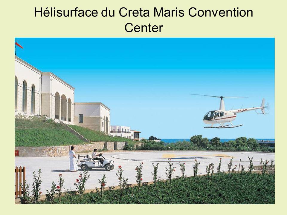 Hélisurface du Creta Maris Convention Center
