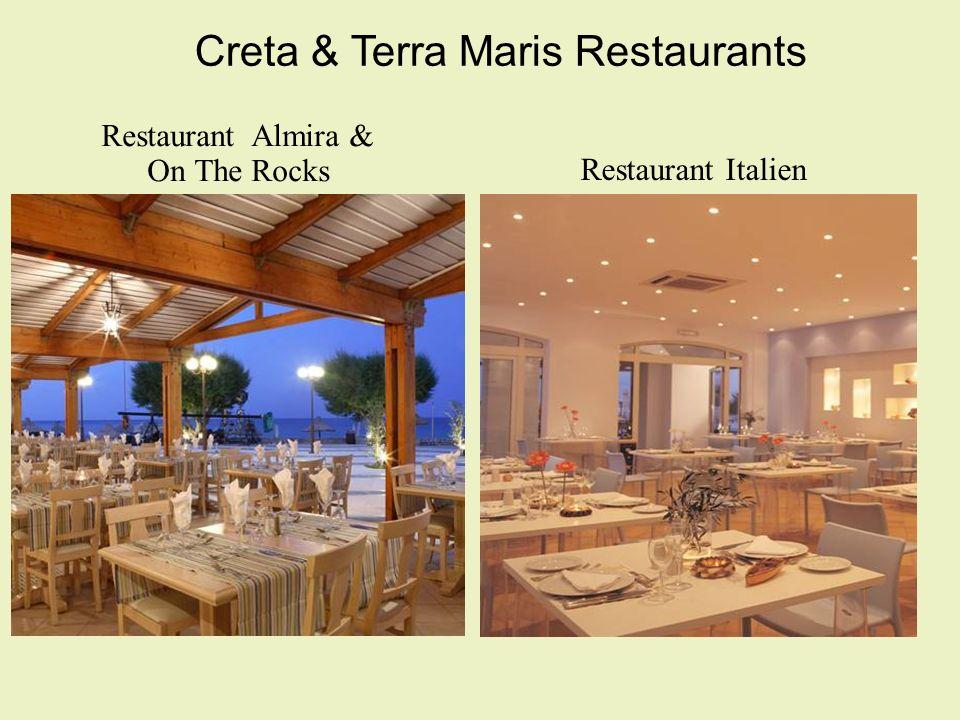 Creta & Terra Maris Restaurants Restaurant Almira & On The Rocks Restaurant Italien