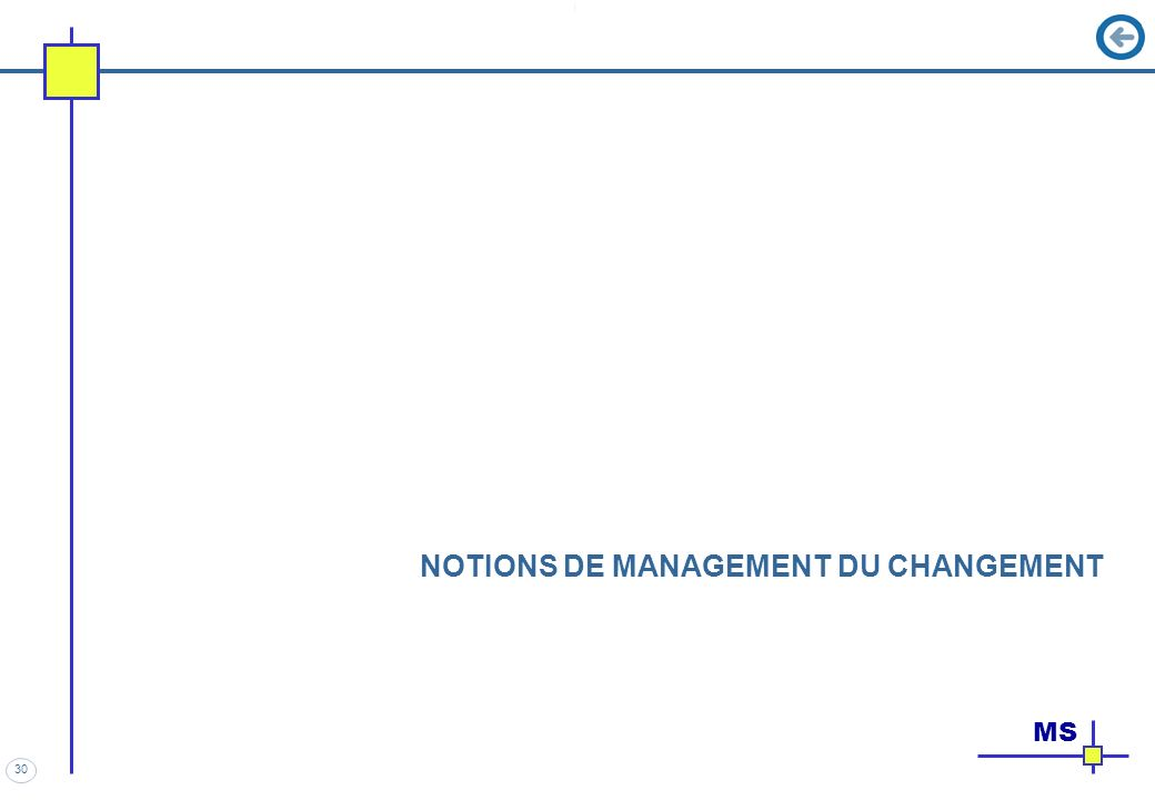 30 NOTIONS DE MANAGEMENT DU CHANGEMENT MS