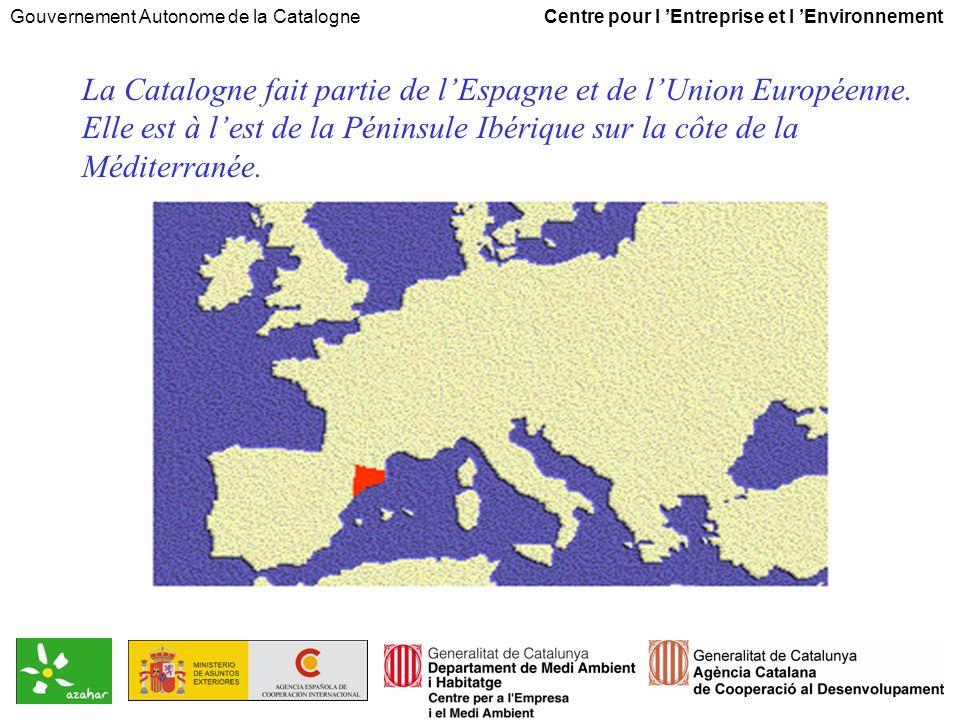 Gouvernement Autonome de la Catalogne Centre pour l Entreprise et l Environnement Quest ce quimplique une attitude proactive.