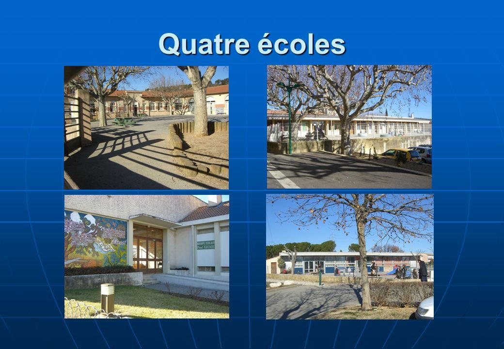 Quatre écoles